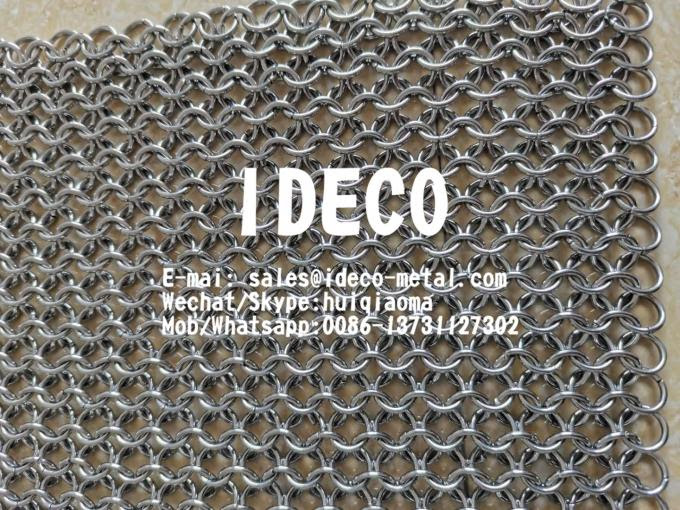 Stainless Steel Ring Mesh Chainmail Baking Cover for Beef ...
