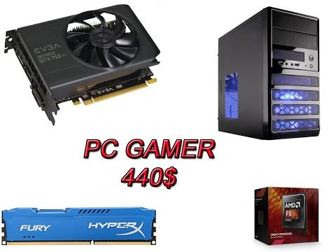 PC Gamer Barata 440$ en Amazon