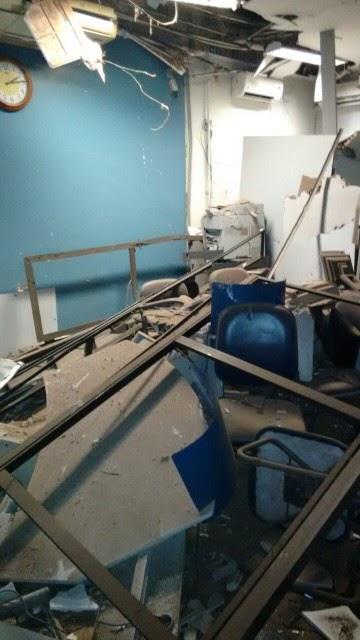 Assaltantes explodem caixas eletrônicos de banco em Matões, MA