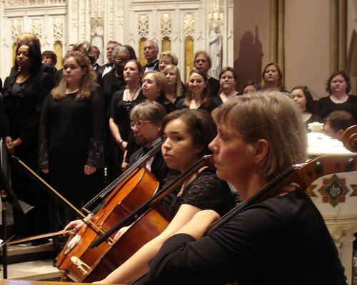 Mozart Requiem at St John's: Christian Zweib, Alexis Barnett, Kristina Vaskas-Haas, Shreveport by trudeau