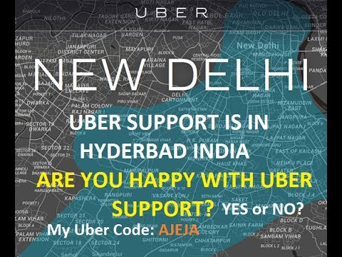 The Uber driver support center is in Hyderbad, India. What do you think about that?