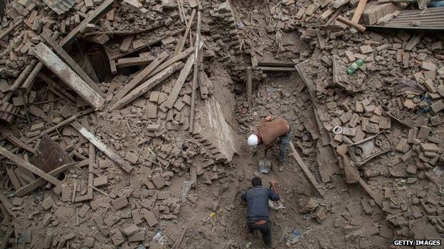 Last update : Nepal quake toll rises above 3,000