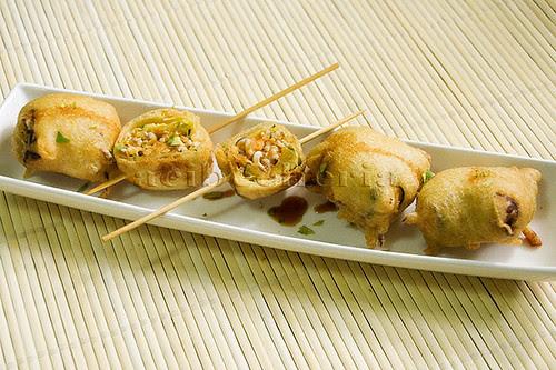 emplatado de tempura