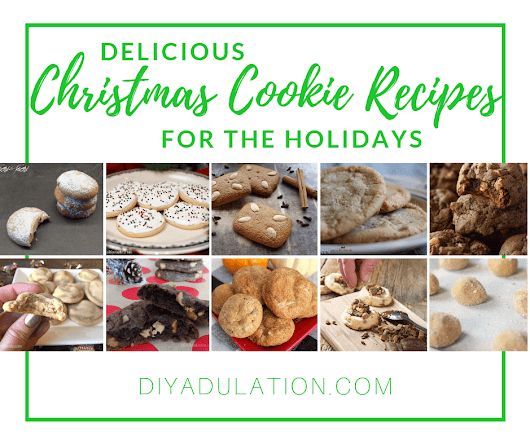 Delicious Christmas Cookie Recipes for the Holidays | DIY Adulation
