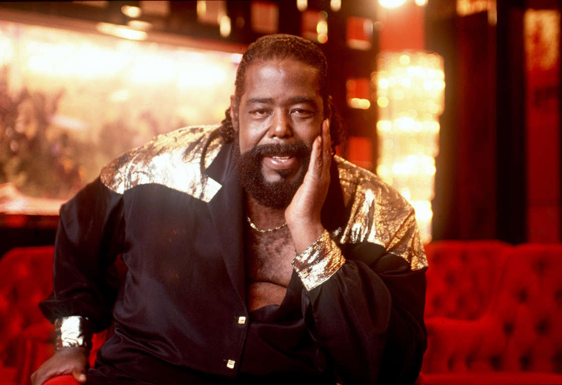 1987 Sherman Oaks, CA. Barry White at his Sherman Oaks home. Photo by Paul Harris/Online USA, Inc.