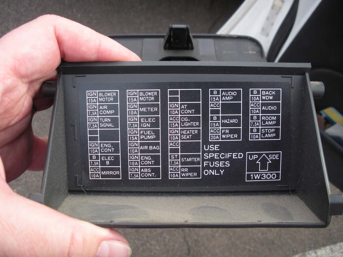 32 2001 Nissan Pathfinder Fuse Box Diagram - Free Wiring ...
