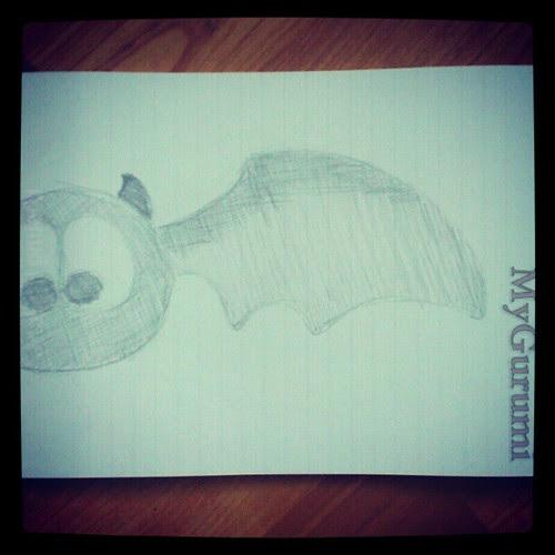 Last minute #halloween crafting #sketching an #amigurumi