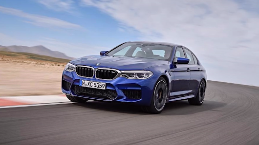 More Images Of The New All-Wheel Drive BMW M5 Have Leaked Again