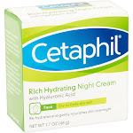 Cetaphil Face Rich Hydrating Night Cream - 1.7 oz jar