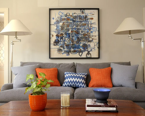 Blue And Orange Home Design Ideas, Pictures, Remodel and Decor