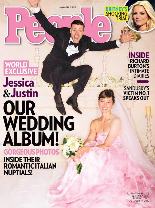 People (November 5, 2012), Justin Timberlake, Jessica Biel
