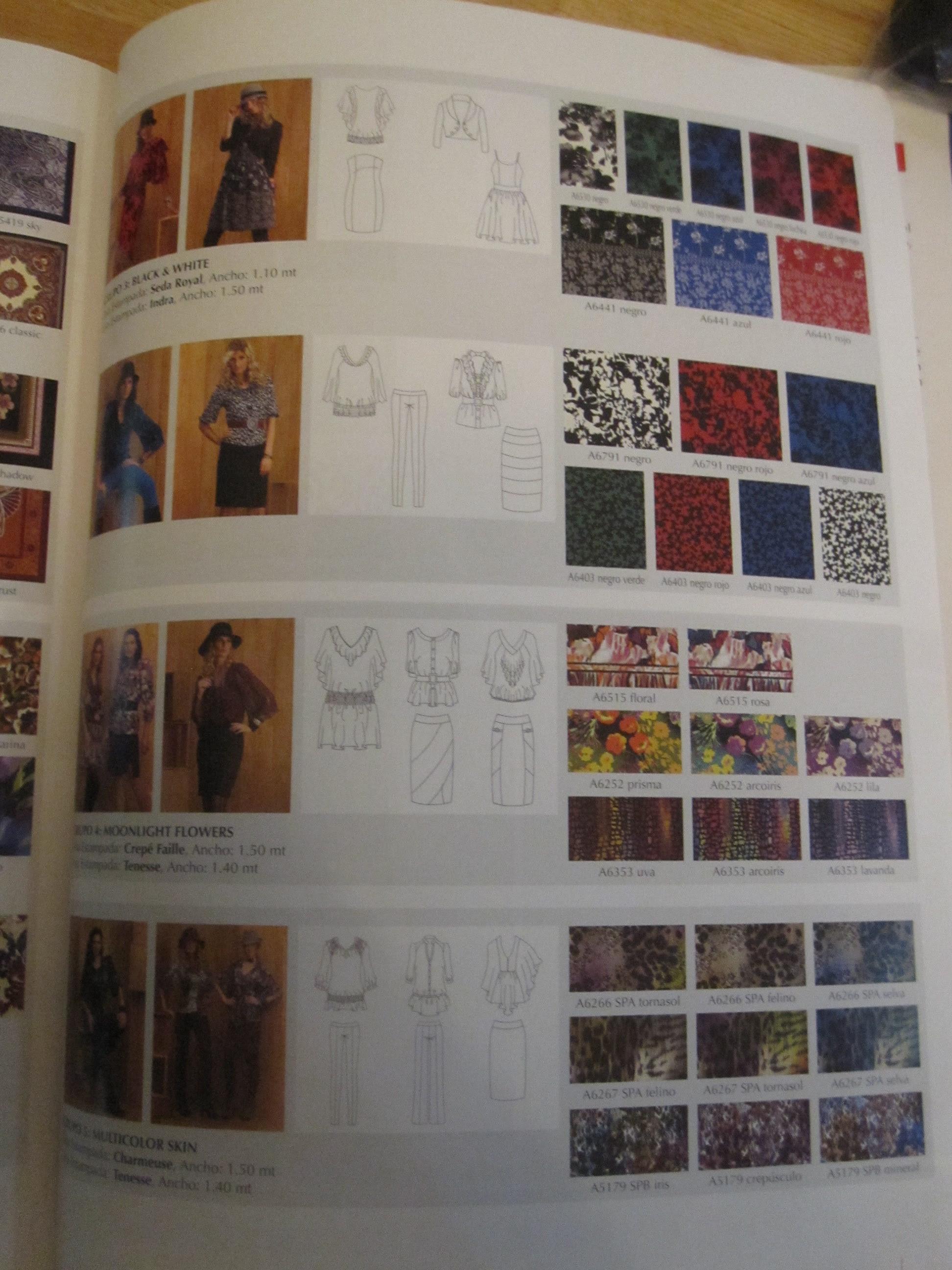 A La Moda (Spanish Language Pattern Magazine)