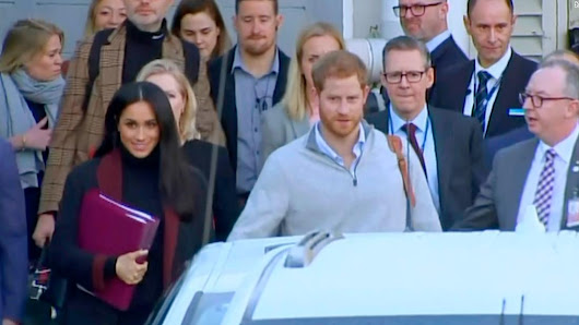 Meghan and Harry arrive in Australia to kick off royal tour - CNN