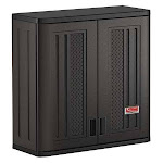 "Suncast Commercial Bmccpd3000 Wall Cabinet,30-1/4"" H,30"" W,dark Gray"