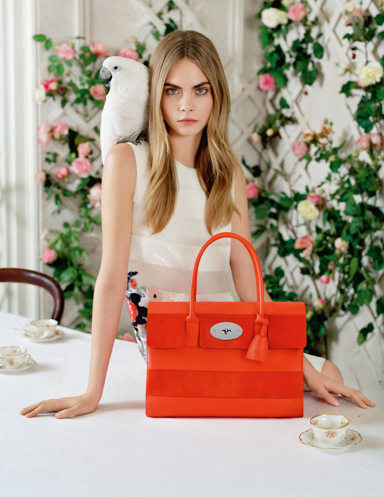 Cara Delevingne by Tim Walker for Mulberry Spring/Summer 2014 Campaign