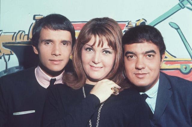 """Programa """"Jovem Guarda"""", que definiu a juventude no Brasil, faz 50 anos neste sábado TV Globo/Divulgação"""
