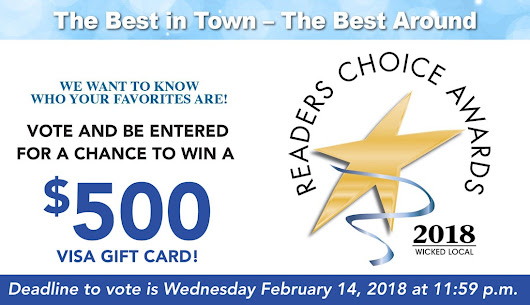 2018 Wicked Local Readers Choice - Contests and Promotions - Wicked Local