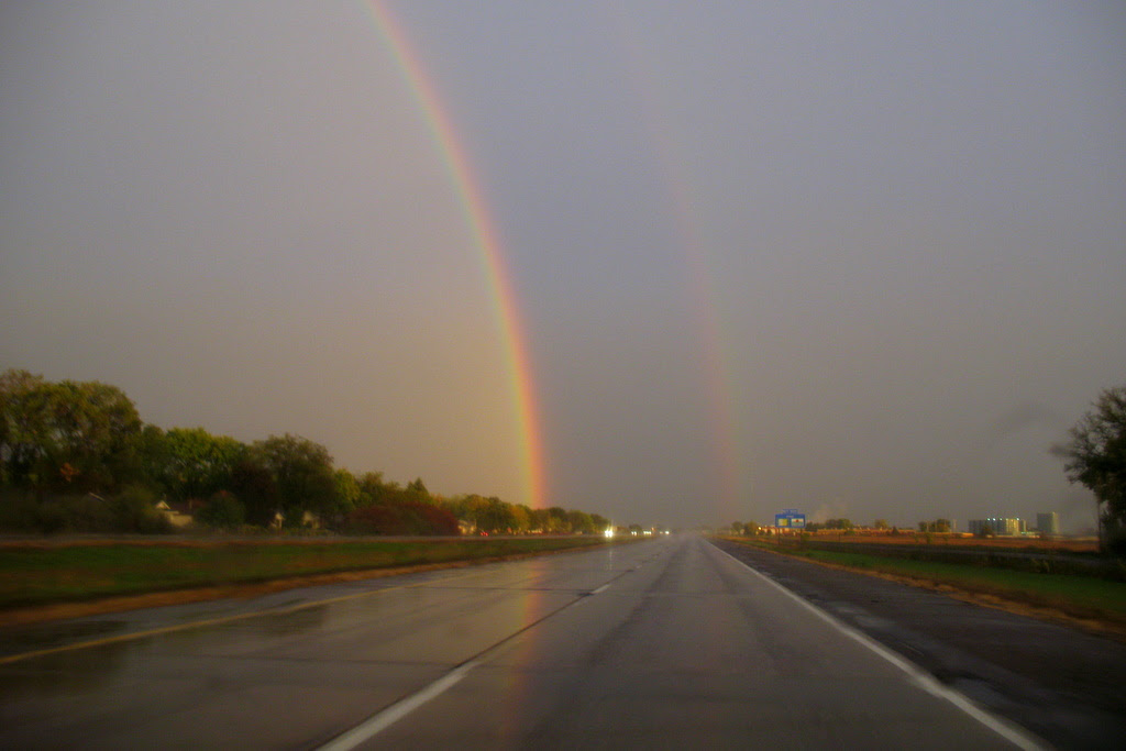 Captured on Highway 61 in Cottage Grove shortly after a storm passed through.