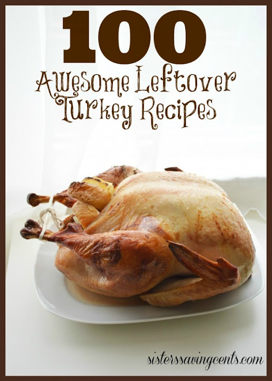 100 Leftover Turkey Recipes - Sisters Saving Cents