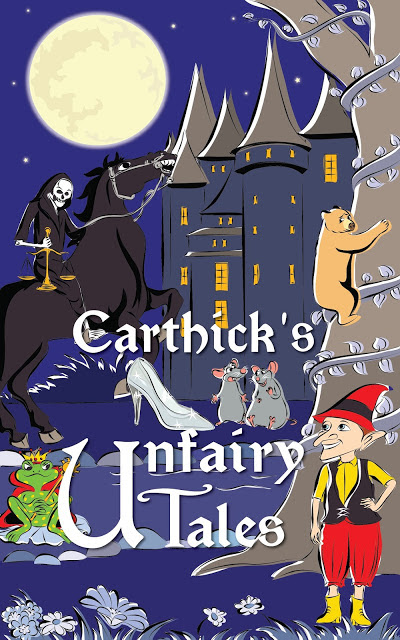 Carthick's Unfairy Tales – TBC Cover Reveal