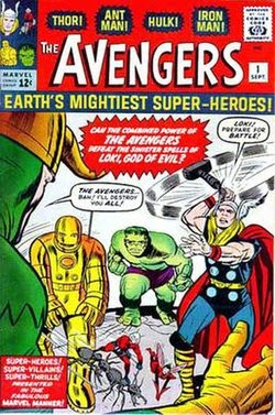 First Avengers Comic Book Cover