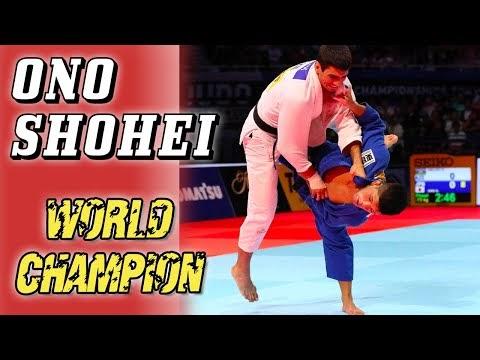 Parabéns ao Campeão Mundial de Judô 2019, Ono Shohei!