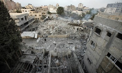 Hamas Headquarters bombed.