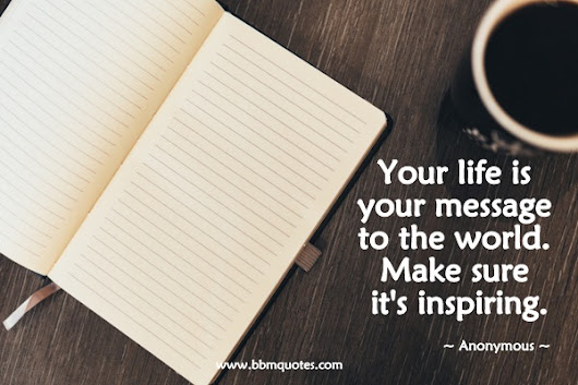 Get Inspired Through Inspiring Others