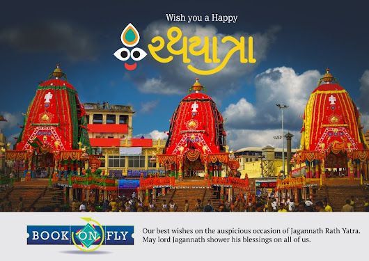 "Book On Fly on Twitter: ""#festivalofcar Happy Rath Yatra to all """