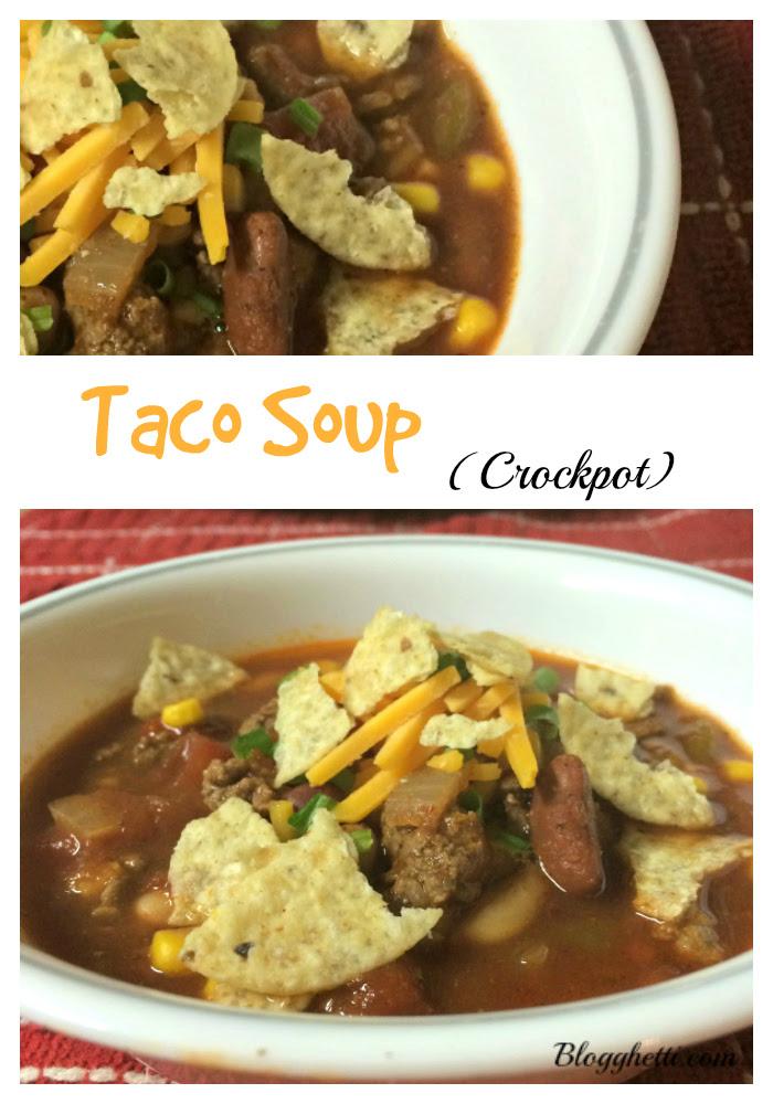 taco soup pin
