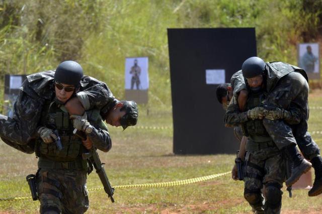 Grupo brasileiro declara lealdade ao Estado Islâmico Gilberto Alves/Divulgação,Ministério da Defesa