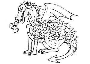 Dragones Para Dibujar