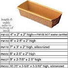 Novacart Rectangular Mold 6' x 2-1/2' x 2' H. Pack of 12, Size: One size, brown/gold/metal
