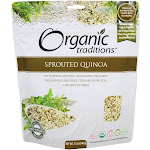 Organic Traditions Sprouted Quinoa 12 oz.