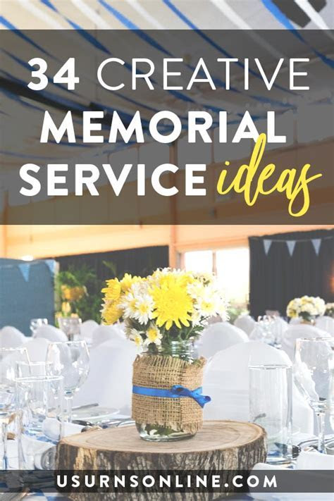 34 Creative Memorial Service Ideas » Urns   Online