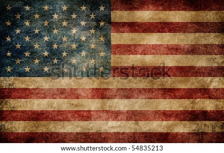 american flag background image. stock photo : American flag