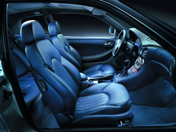 Maserati 3200 GT provides seating for 4