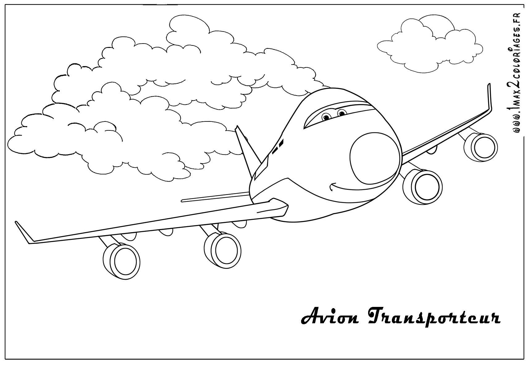 Avion Transporteur Cars 2