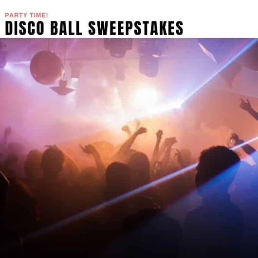 LED Disco Ball Sweepstakes | Prizewise