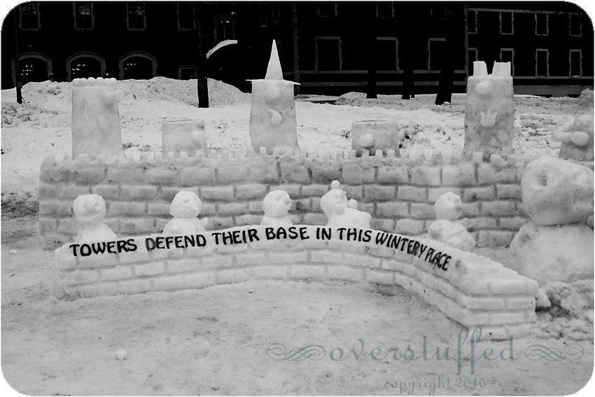 Snowman Fortress