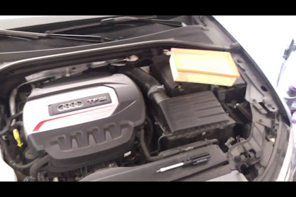 Audi A3 Air Filter Change