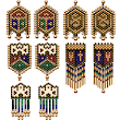 Crest Earrings 5 Pack, Sova Enterprises