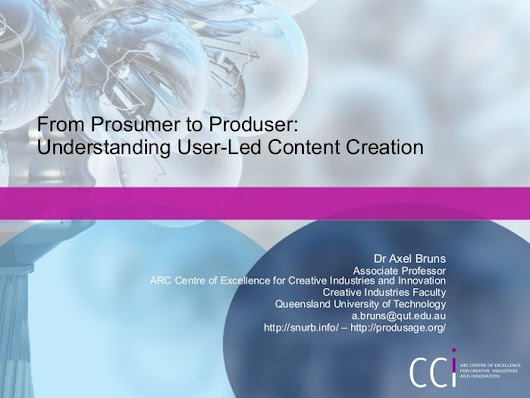 Prosumerism - Best Slideshare Decks on Prosumers / Professional/Producer Consumers | Listly List