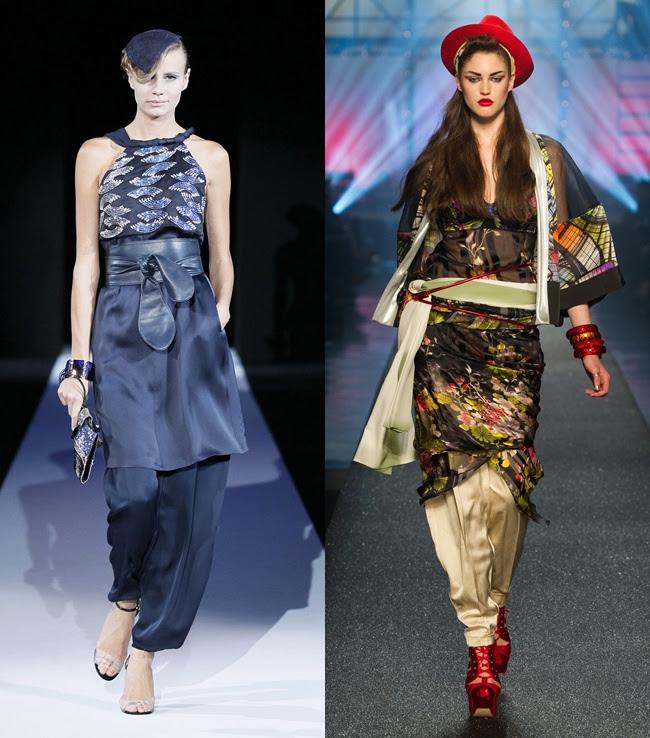 5  kimono - armani - gaultier