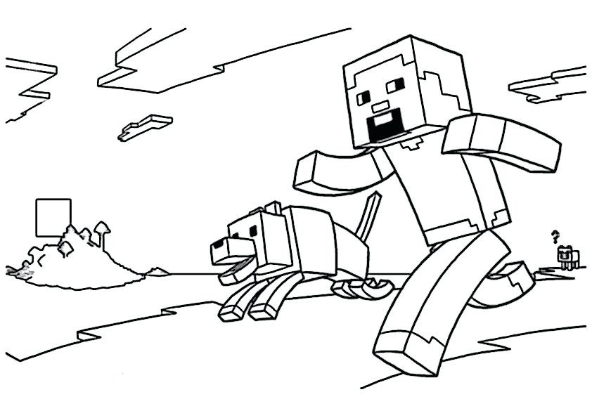 minecraft ausmalbilder zum ausdrucken kostenlos