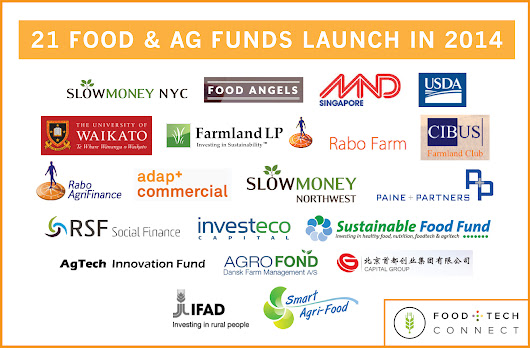 21 Food & Ag Investment Funds Launch in 2014 | Food + Tech Connect