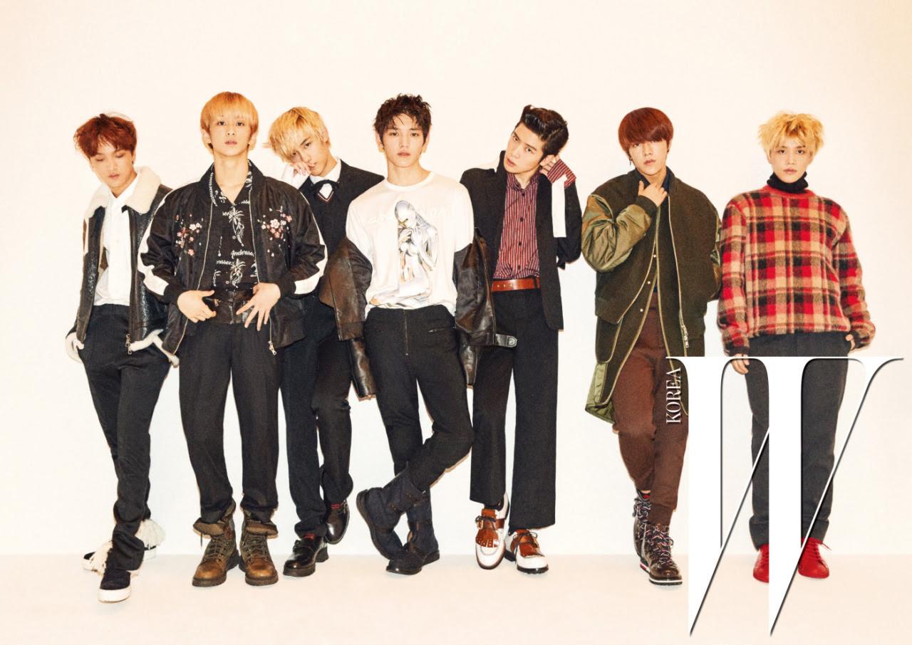 NCT 127 - W Magazine December Issue '16