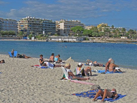 Best Beaches in Antibes France -  French Riviera Beaches
