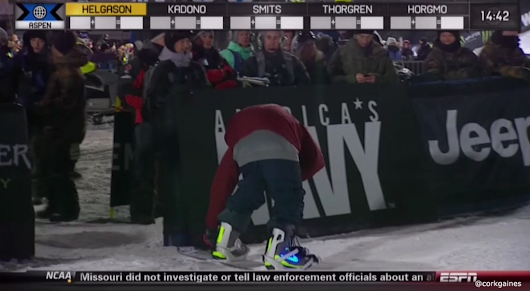 Winter X Games 2014: Halldor Helgason wears Nike boots that light up (Photo)