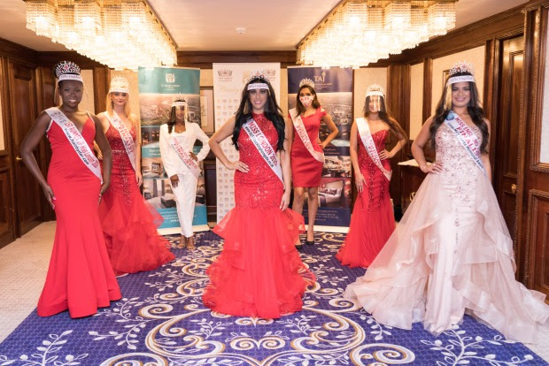 Miss London 2020 winner rocks Coronavirus visor as she is officially crowned (Photos)